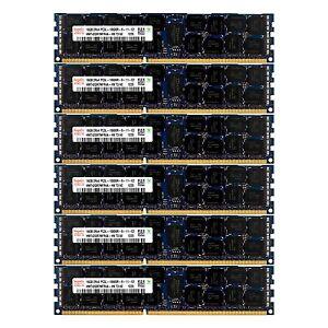 PC3L-10600 6x16GB DELL POWEREDGE C2100 C6100 M610 M710 R410 M420 R515 MEMORY Ram