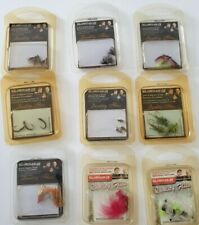 LOT3 A MIXED LOT OF NEW IN PACKETS TROUT FLIES 9 PACKETS AS PICTURES SHOW