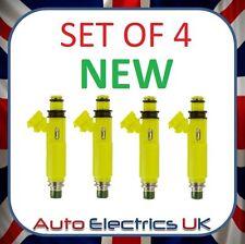 Lot de 4 jaune Carburant injectorsturbo/suralimenté Nouveau Fits Mazda RX8 MX5 SUBARU