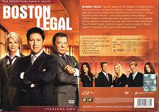 BOSTON LEGAL - STAGIONE 1 (UNO) - BOX 6 DVD (NUOVO SIGILLATO)