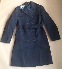 Vintage Grantham WEATHERWEAR pardessus-doublure matelassée mac manteau-nos police etc