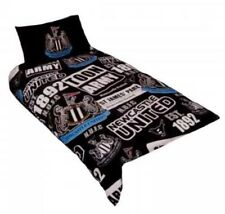NEWCASTLE UNITED TOON 'PATCH' SINGLE DUVET COVER SET NEW BEDDING KIDS & ADULTS