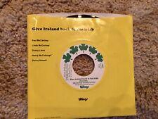 Paul McCartney & Wings Give Ireland Back To The Irish 7 In Vinyl 1972