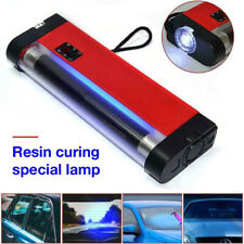 UV Cure Lamp Ultraviolet LED Light Car Auto Glass Windshield Crack Repair Tool