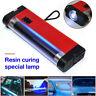 UV Cure Lamp Ultraviolet LED Light Car Auto Glass Windshield Crack Repair Tool