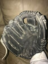 "Easton LHT Baseball Glove^^ BMX125B 121/2""Black  Leather^Includes conditioner"