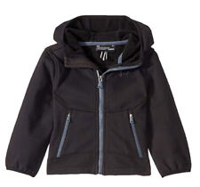 Under Armour Full Zip Youth Hooded Softshell Jacket Black