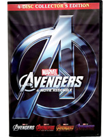 Avengers 1-4 : The Complete Seires 4-Movie Collection Endgame Included (New DVD)