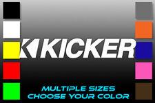 Kicker Audio Systems Logo car sub woofer amplifier speaker