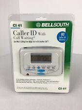 Nib Bellsouth Caller Id With Call Waiting Ci 41 Ci41 Landline 90 Caller Memory
