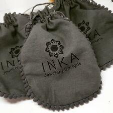 New INKA LUXURY Gift Pouch Packaging for Bracelet Earrings Necklace