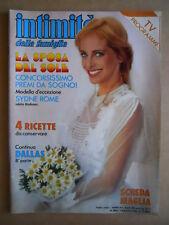 INTIMITA' n°2095 1986 Sydne ROme  con inserto [D12]