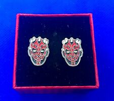 Darth Maul Star Wars Character Cufflinks NEW