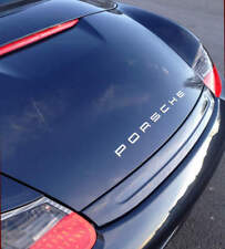 PORSCHE EMBLEM LETTERS IN CHROME - 911 991 996 997 Carrera Turbo GT3 GTS Targa