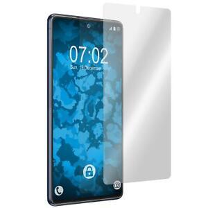 2 x Displayschutzfolie klar  für Samsung Galaxy S20 FE Folie