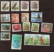 Nyassaland Zambia Rhodesien Stamp lot Used