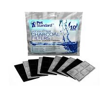 Drinkwell Pet Fountain Charcoal Filters 10Pk 6 Compartments Clean Fresh Water