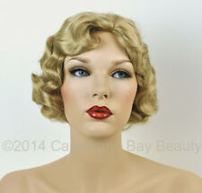Beautiful Medium Blonde Finger Wave 1920s, 1930s Gatsby Roxie Flapper Wig!
