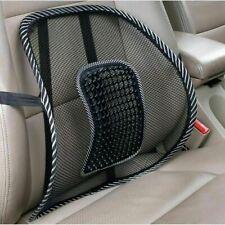 URBANESSENTIALS Air Flow Lumbar Support Cushion - Black