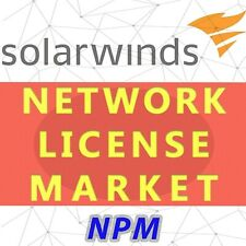 SolarWinds Network Performance Monitor license - SLX, Permanent and Unlimited
