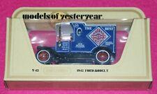 Models of Yesteryear Y-12 1912 Ford Model T Smith's Crisps Matchbox Lesney Box