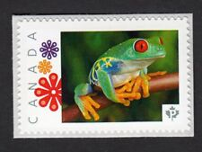 RED-EYED TREE FROG = toad =Picture Postage MNH stamp Canada 2016 [p16/01-2fr5/4]