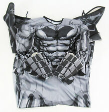 Rubie's Deluxe Muscled Batman One Piece Costume - Youth Size L