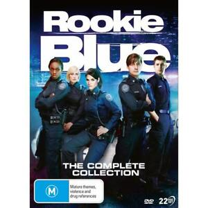 Rookie Blue: The Complete Collection DVD Box Set R4 New