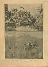 WWI Scaphandrier Front de la Somme Fusiliers-Marins Flandres 1917 ILLUSTRATION