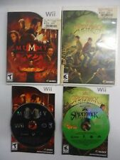 2 Nintendo Wii Game-The Spiderwick Chronicles & Mummy Tomb of the Dragon Emperor