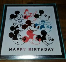 PAPYRUS DISNEY MICKEY MOUSE PICTURES 3D FRAME BIRTHDAY DAY CARD