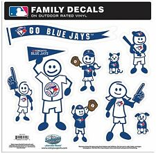 Toronto Blue Jays Large Family Decals 9 Pack (NEW) Auto Car Stickers Emblems MLB