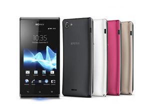 "Original Android Sony Ericsson Xperia J ST26i GPS WIFI Unlocked Cellphone 4.0"""