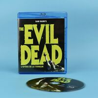 Sam Raimi's The Evil Dead Blu-Ray - 1981 - Bilingual - GUARANTEED