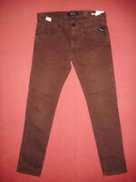 Replay ANBASS Slim Fit  W32 L32  RRP £135  Mens Maroon Denim Jeans   N7