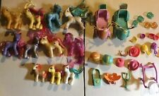 11 Vintage My Little Pony Figures And Accessories Lot Played With Need Some Tlc
