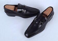 Salvatore Ferragamo 'Santiago' Loafer- Black- Size 6.5 3E $560  (H6)