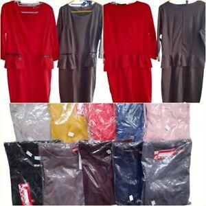 Women Ladies Dresses.  Very comfortable.  Zip    UK size 8-14