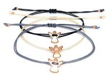 Schutzengel - Armband, rosegold, Farbwahl - Glücksbringer