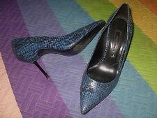 zapatos serpiente azul Zara Woman talla 36 en otro anuncio bolso ver fotos