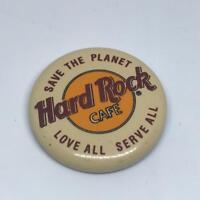 Vintage Hard Rock Cafe Pinback Pin