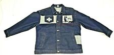 Negro American League Museum Baseball MLB Denim Jean Jacket Coat XXL 2XL NWOT