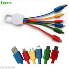 New Universal 6 in 1 USB Charging cable Multi cord for IPhone, Samsung, HTC