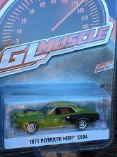 Greenlight MUSCLE  Series 18 1971 Plymouth Hemi Cuda sassy grass green