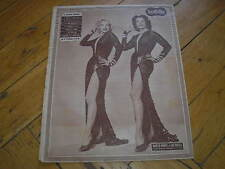 MARILYN MONROE JANE RUSSELL COVER NOVELLE FILM 1953 ITALIAN MAGAZINE RIVISTA