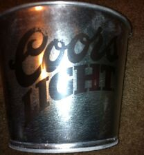 Coors Light Galvanized Metal Ice Bucket with Handle Make Offer