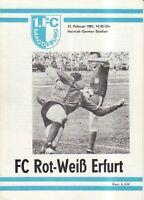 OL 80/81  1. FC Magdeburg - FC Rot-Weiß Erfurt