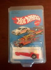 Vintage 1981 Hot Wheels Red Tricar X-8 #1130 NOS