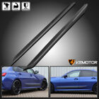 For 2019-2020 BMW 3-Series G20 M340i M Performance Side Skirts 2PC Body Kit Blk