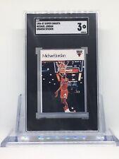 1986 Super Canasta Spanish Sticker Michael Jordan ROOKIE RC SGC 3 VG*INVEST🔥📈